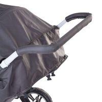 CHILDHOME Kinderwagenhandgreepbescherming schuim zwart