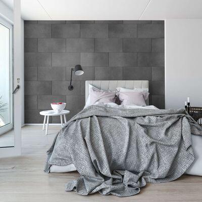Grosfillex 11 st Wandtegels Gx Wall+ Wise Stone 30x60 cm donkergrijs