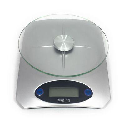 HI Keukenweegschaal digitaal zilverkleurig