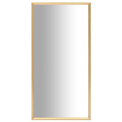 vidaXL Spiegel 120x60 cm goudkleurig