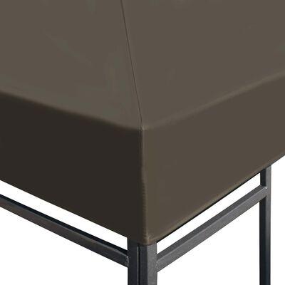 vidaXL Prieeldak 310 g/m² 3x4 m taupe, Taupe