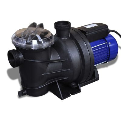 vidaXL Elektrische zwembadpomp 800W blauw