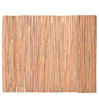 vidaXL Scherm 100x400 cm bamboe