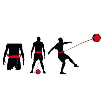 Avento Voetbalvaardigheidstrainer zwart en rood