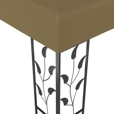 vidaXL Prieel 180 g/m² 3x3 m taupe