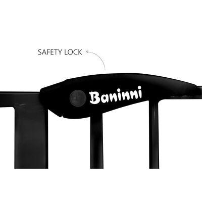 Baninni Traphekje Vicino 75-85 cm metaal zwart