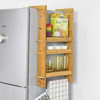 SoBuy KCR03-N Keukenplank Kruidenrek met 3 planken voor koelkast