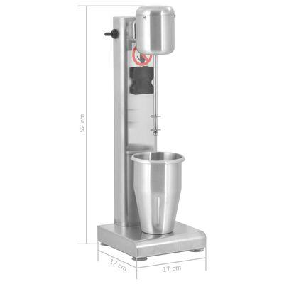 vidaXL Milkshake mixer 1 L roestvrij staal
