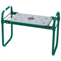 Draper Tools Vouwbare tuinbank/kniebank groen ijzer 64970
