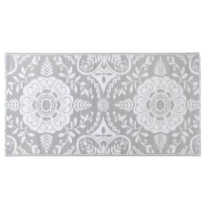 vidaXL Buitenkleed 160x230 cm PP lichtgrijs