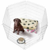 FLAMINGO Puppy speelren 160x100 cm 507805