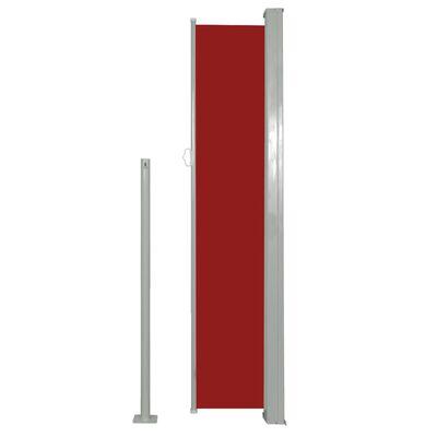 vidaXL Windscherm uittrekbaar 160x500 cm rood