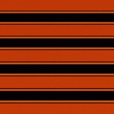 vidaXL Luifeldoek 450x300 cm canvas oranje en bruin