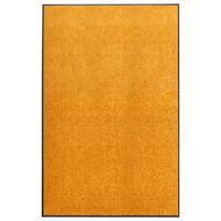 vidaXL Deurmat wasbaar 120x180 cm oranje