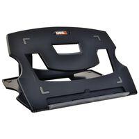 DESQ Laptoptafelstandaard 28,5x21x1 cm zwart