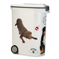 Curver Voedselcontainer hond met wielen 54 L