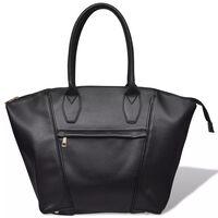 Handtas vierkant (zwart)