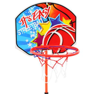 vidaXL Kinderbasketbalring- en balset