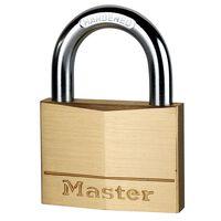 Master Lock Hangslot 70 mm massief messing 170EURD