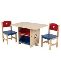 KidKraft Tafel met 2 stoelen Ster