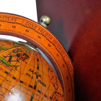 vidaXL Boekensteunen 2 st globe