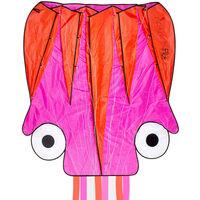 Dragon Fly Vlieger Octopus 124x127 cm roze en oranje