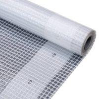 vidaXL Leno dekzeil 260 g/m² 3x5 m wit