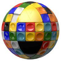 V-Cube V-Sphere Bolvormige draaiende puzzel 560021