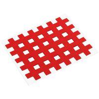 Gatapex acupunctuurpleister raster 4,4 x 5,2 cm rood