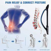 Rugspanner En Lendensteun Voor Massage En Pijnverlichting Blauw / Zwar