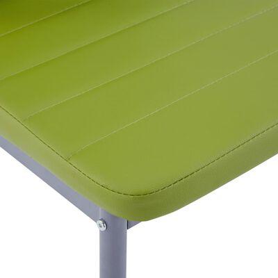 vidaXL 5-delige Eethoek groen