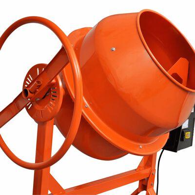 Betonmolen oranje staal 140 L 650 W