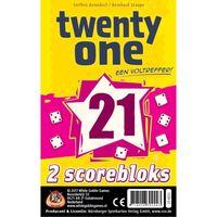 White Goblin Games uitbreidingsset Twenty One  (21) scorebloks