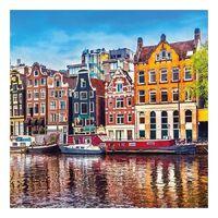 20 stuks Amsterdam Holland thema servetten 33 x 33 cm - Papieren