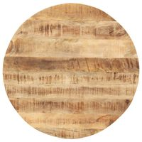 vidaXL Tafelblad rond 15-16 mm 40 cm massief mangohout