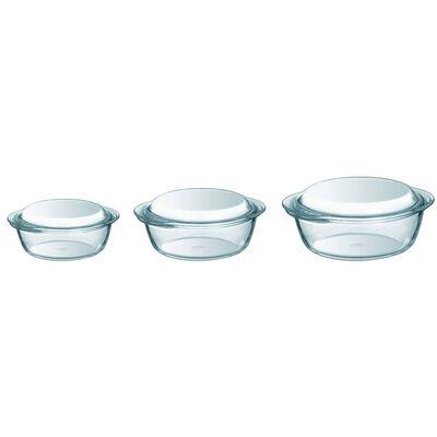 Pyrex Ovenschalenset glas 3-delig 912S637/6142