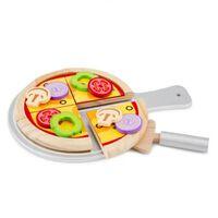 pizza set junior 28 cm hout 14-delig