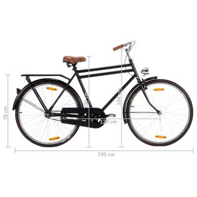 vidaXL Opafiets 28 inch 57 cm frame