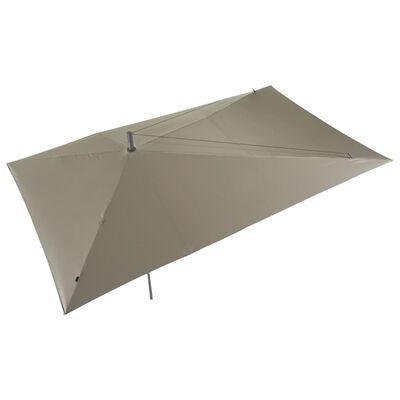Madison Parasol Asymmetric Sideway 360x220 cm taupe PC15P015
