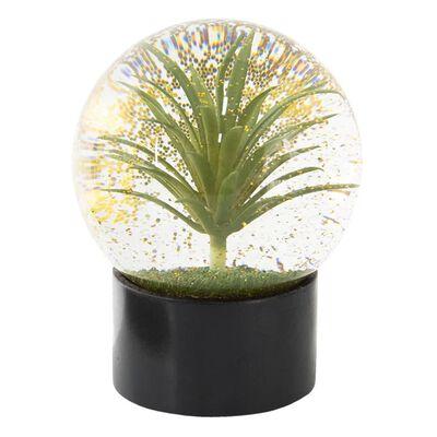 Sneeuwbol   Ø 12*15 cm   Groen   Polyresin / glas   rond   palm  