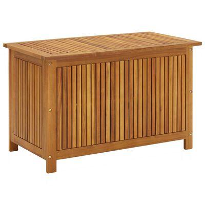 vidaXL Tuinbox 90x50x58 cm massief acaciahout