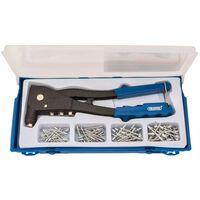 Draper Tools Klinknagel pistool set blauw 27843