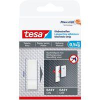9x Tesa Powerstrips voor behang/pleister klusbenodigdheden -