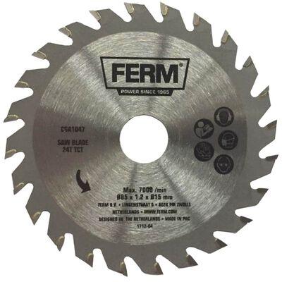 FERM Precisie diamantzaagblad 24T TCT 85 mm CSA1047