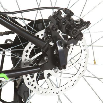 vidaXL Mountainbike 21 versnellingen 26 inch wielen 42 cm zwart