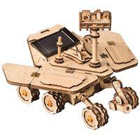 Robotime Speelgoedauto Vagabond Rover solar
