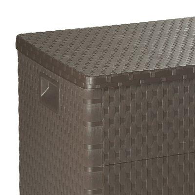vidaXL Tuinbox 120x56x63 cm bruin
