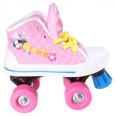 Disney rolschaatsen Minnie Mouse meisjes roze/wit maat 29