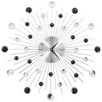 vidaXL Wandklok met quartz-mechanisme 50 cm modern ontwerp