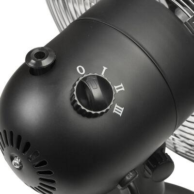 Bestron Tafelventilator DFT35Z retro 35 W 35 cm zwart